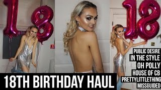 Download 18th Birthday Dress Haul / Missguided/ In The Style/ Public Desire Video