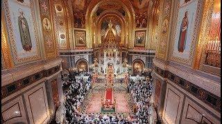 Download Пасхальное богослужение в Храме Христа Спасителя. Полное видео Video