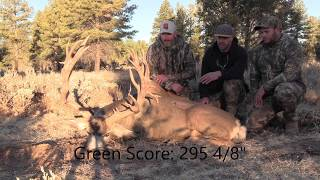 Download ″Dyno″- 295 inch AZ Strip Giant Mule Deer Video