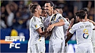 Download Zlatan scores hat trick, Carlos Vela scores twice as LA Galaxy defeat LAFC | MLS Highlights Video
