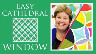 Download Easy Cathedral Window Quilt: Simple Quilting Tutorial with Jenny Doan of Missouri Star Quilt Co Video