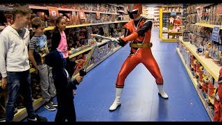 Download Smyths Toys - Power Rangers Ninja Steel - Kids Parody with Toys! Video