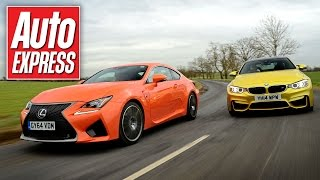 Download Lexus RC F vs BMW M4 super-coupe track battle Video