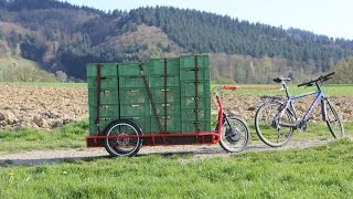 Download Carla Cargo the Trailer Bike for heavy loads Video