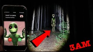 Download CALLING DAME TU COSITA ON FACETIME AT 3AM IN SLENDERMAN FOREST | I FOUND DAME TU COSITA IN A FOREST! Video