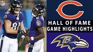 Download Bears vs. Ravens | NFL 2018 Hall of Fame Game Highlights Video