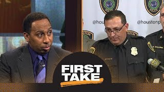 Download Stephen A. enraged over Houston police chief's Michael Bennett news conference | First Take | ESPN Video