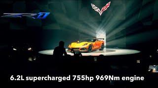 Download 2019 Chevrolet Corvette ZR1 Launch in Dubai Video