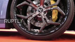 Download Germany: Halcon SuperSport presents €380,000 Falcarto at Essen Motor Show Video