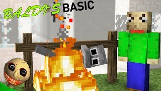 Download BALDI'S BASIC HORROR GAME | Monster School - MInecraft Animations Video