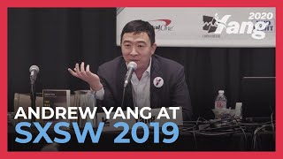 Download Andrew Yang Discusses the Automation of Labor & Universal Basic Income at SXSW 2019 Video