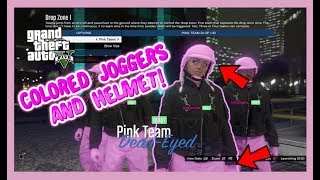 Download GTA 5: 1.42 HOW TO GET COLORED JOGGERS WITH HELMET AFTER PATCH 1.42 (WITH VOICE) Video