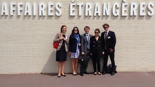 Download 70. Crew der Diplomatenausbildung des Auswärtigen Amts in Paris Video