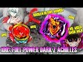 UPSET! REVIVE PHOENIX BROKE! 100% DARK FULL POWER Z-ACHILLES DESTROYS  Beyblade Burst Super Z超ゼツ