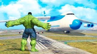 Download GTA 5 Mods - Hulk vs Plane Video