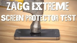 Download Zagg Extreme Screen Protector Test Video