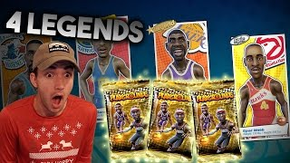 Download 4 LEGEND PULLS IN ONE PACK OPENING + NBA Playgrounds Legend Gameplay Video