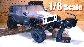 Download RC ADVENTURES - REDEFiNE TRAiL CRAWLiNG! Unboxing a 1/8th scale ″CRAGSMAN″ 4x4 - TRACTiON HOBBY Video