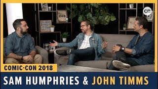 Download Sam Humphries and John Timms - SDCC 2018 Exclusive Interview Video