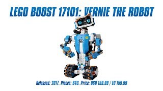 Download LEGO Boost 17101: Vernie the Robot test Video
