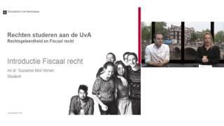 Download Webinar - Rechten studeren aan de UvA Video