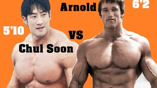 Download BEST BODYBUILDER IN THE WORLD ARNOLD SCHWARZENEGGER VS CHUL SOON Video