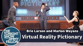 Download Virtual Reality Pictionary with Brie Larson and Marlon Wayans Video