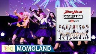 Download MOMOLAND(모모랜드) 'BBoom BBoom' MV tops 200 mln YouTube views…'BAAM'(배앰)은 역주행 중 (뿜뿜, Joo E, Nancy) Video