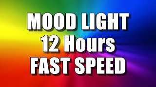 Download COLOR CHANGING MOOD LIGHT (12 Hours – FAST SPEED) Multi Colour Screen – Relaxing Rainbow colours Video
