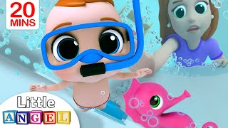 Download Bath Song | Baby's Bath Time | Little Angel Nursery Rhymes & Kids Songs Video