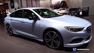 Download 2018 Opel Insignia Turbo X - Exterior Interior Walkaround - 2017 Geneva Motor Show Video