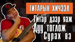 Download Daavka | Гитарын хичээл 1 (Орцны дуунууд) Guitar Lesson 1 Video