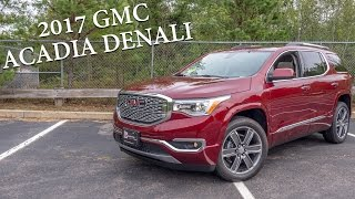 Download 2017 GMC Acadia Denali - This is it! Video