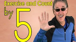 Download Count by 5's | Exercise and Count By 5 | Count to 100 | Counting Songs | Jack Hartmann Video