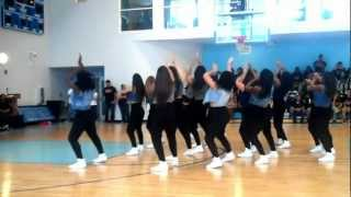 Download VARSITY PANTHERETTES BLACK HISTORY MONTH 90'S THROW BACK PEP RALLY Video