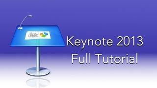 Download Keynote 2013 Full Tutorial Video