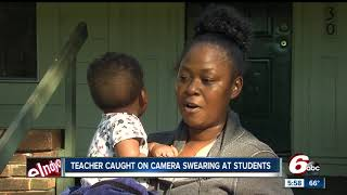 Download Teacher caught on camera swearing at students at Arsenal Technical High School in Indianapolis Video