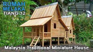 Download MELAKA Traditional House Replica (i) Malaysia // Rumah Melayu Melaka Berbandung Dua Video