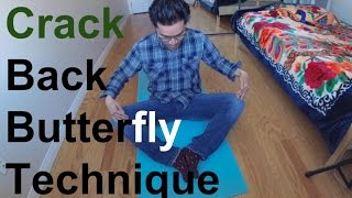 Download Crack Back (ButterFLY Technique) How to Video Video