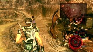 Download Resident Evil 5 All Boss Fights on Veteran Video
