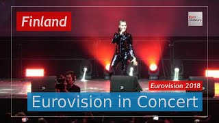 Download Finland Eurovision 2018 Live (4K): Saara Aalto - Monsters - Eurovision in Concert Video