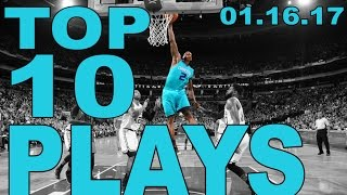 Download Top 10 NBA plays of the Night: 01.16.17 Video