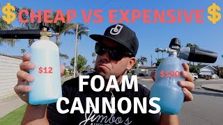 Download CHEAP VS EXPENSIVE FOAM CANNON - $12 vs $100 WHICH IS BETTER? Video
