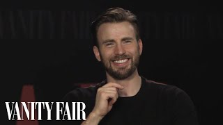 Download Chris Evans Is a Hopeless Romantic Who May Perspire If You Approach Him | Vanity Fair Video