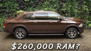 Download $260,000 Ram 1500 Luxury Sedan - The Maybach of Pickup Trucks? Video