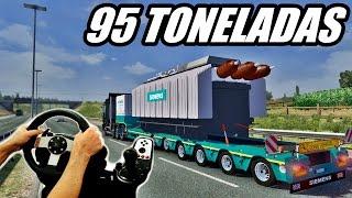 Download Euro truck simulator 2 - Carga pesada, 95 Toneladas Jogando com o logitech g27! Video