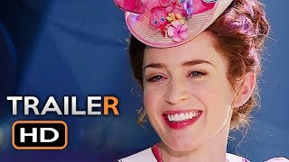 Download MARY POPPINS RETURNS Official Trailer 2 (2018) Emily Blunt Disney Movie HD Video