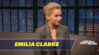 Download Emilia Clarke Had an Awkward Meeting with Prince William Video
