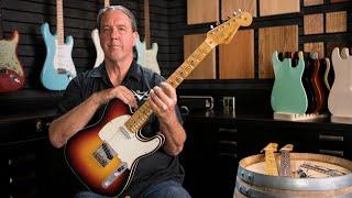 Download Fender Custom Shop Eric Clapton Crossroads Blind Faith Telecaster | A Closer Look Video