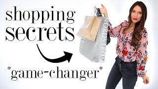 Download 8 Sneaky SHOPPING SECRETS Every Girl Should Know! *life-changing* Video